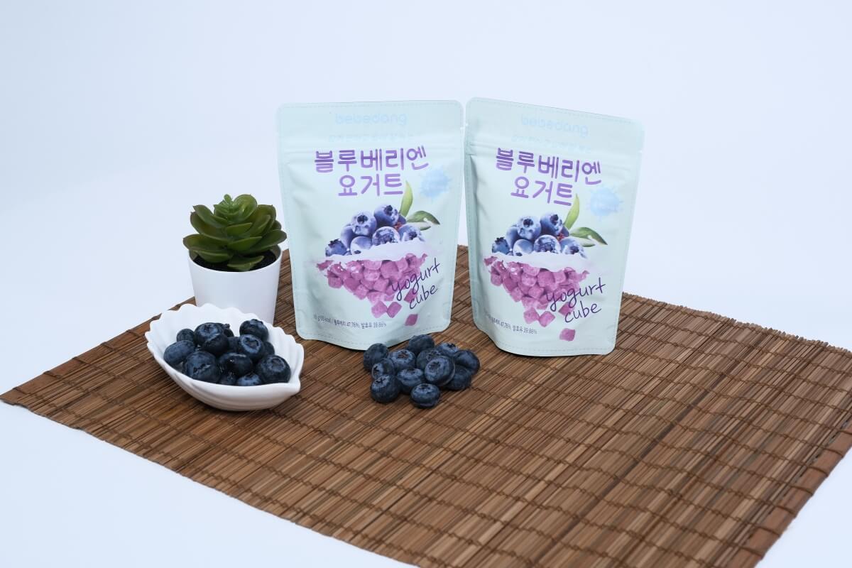 零食包裝 藍莓