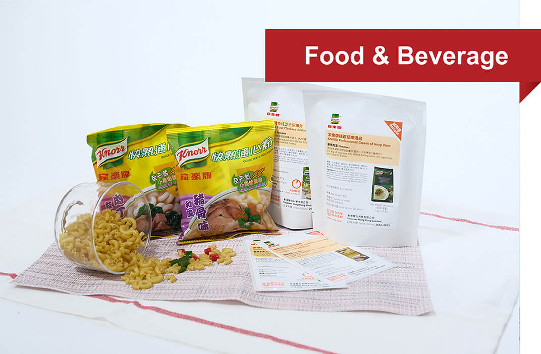 food & beverage poly-bag packaging