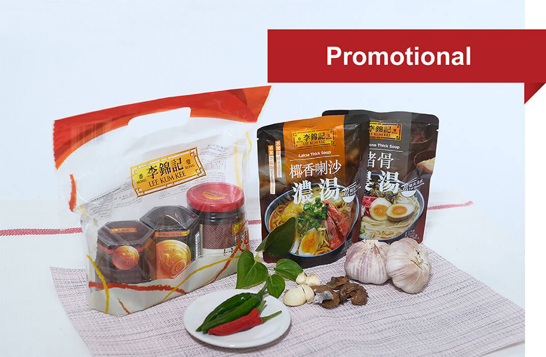 promotional poly-bag packaging